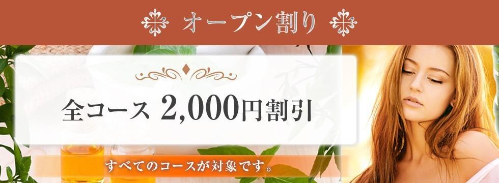 全コース 2,000円割引